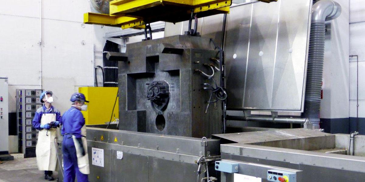 Fonderie - empreinte de moules sous-pression aluminium pour pièce automobile