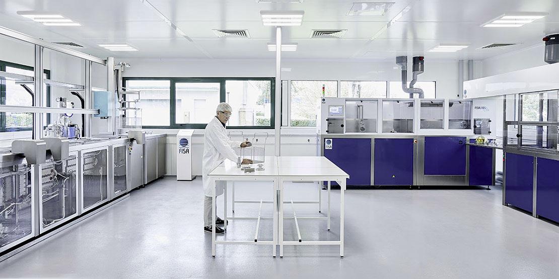 15 laboratorios de ensayos a su disposición