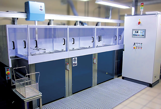 C40 - máquina estándar FISA