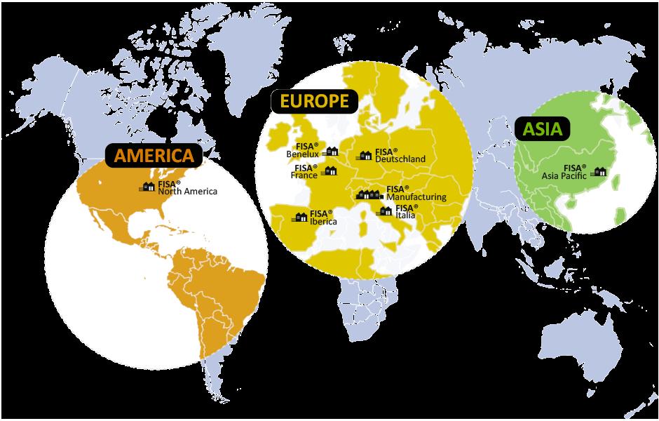 El grupo FISA en todo el mundo