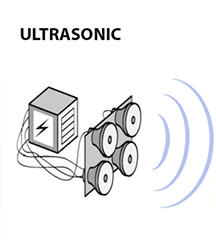 how does ultrasonic cleaning work?