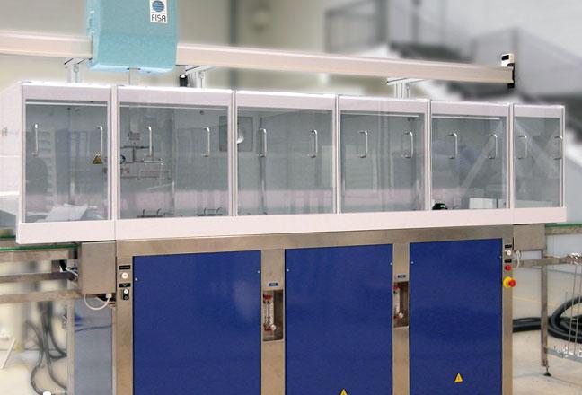 CS20 Maschine fur die Reinigung nach dem Aufbringen auf das optische Feld