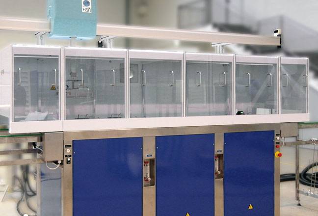 CS20 optyczne czyszczenie maszyn po czyszczeniu powierzchni