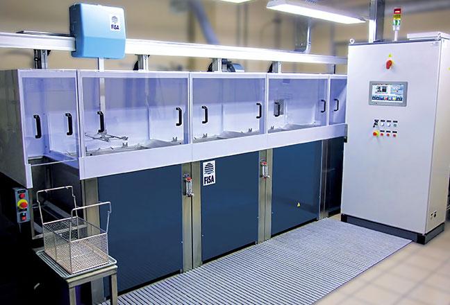 C40 - standardowa maszyna FISA