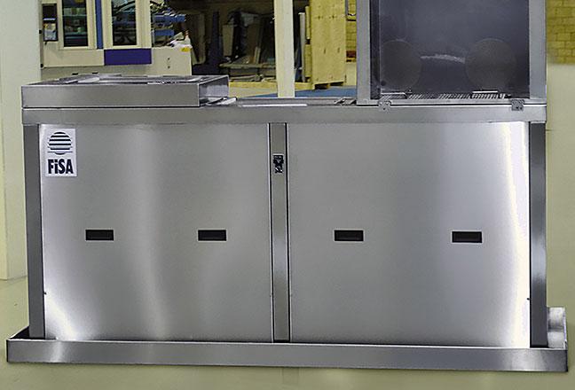 LRD140 - maszyna do czyszczenia form FISA