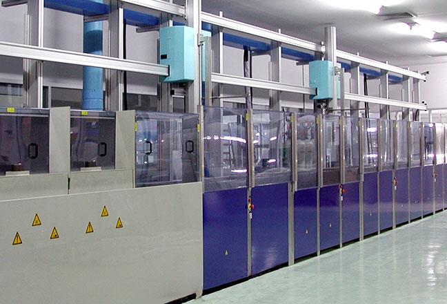 Maszyna kwasowa - Mycie form szklanych