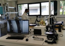 FISA - our labs with binocular lens